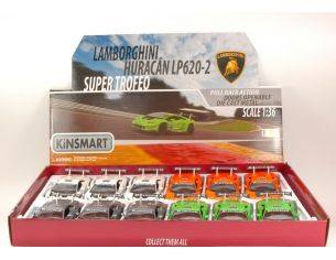 Hot Wheels KT5382 LAMBORGHINI HURACAN LP620-2 SUPER TROFEO 1:36 Modellino