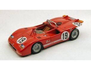 M4 M47175 ALFA ROMEO 33.3 N.19 MONZA 1971 GALLI-STOMMELEN 1:43 Modellino