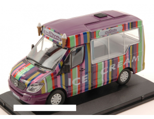 Oxford OXFWM006 MERCEDES SPRINTER ICE CREAM 1:43 Modellino