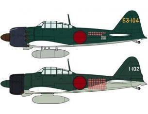 Hasegawa HG02009 A6M2B/A6M5 ZERO FIGHTER COMBO (2 KIT) 1:72 Modellino