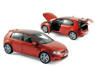 Norev NV188517 VW GOLF 2013 SUNSET RED 1:18 Modellino