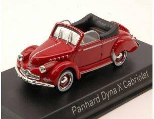 Norev NV451803 PANHARD DYNA X CABRIOLET 1951 RED 1:43 Modellino