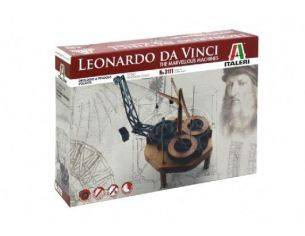Italeri IT3111 LEONARDO DA VINCI FLYING PENDULUM CLOCK DIM.BOX cm 31x21x6 KIT Modellino