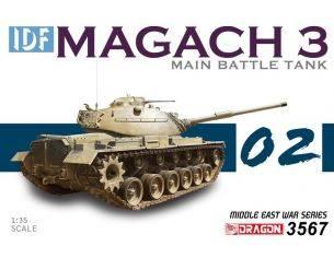 Dragon D3567 IDF MAGACH 3 KIT 1:35 Modellino