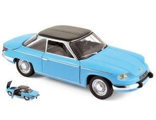Norev NV184501 PANHARD 24 CT 1964 TOLEDE BLUE & BLACK 1:18 Modellino