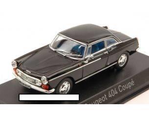 Norev NV474431 PEUGEOT 404 COUPE' 1967 BLACK 1:43 Modellino