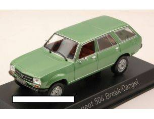 Norev NV475430 PEUGEOT 504 BREAK 1980 GREEN METALLIC 1:43 Modellino