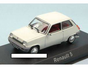 Norev NV510514 RENAULT 5 TL 1976 WHITE 1:43 Modellino