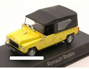 Norev NV510953 RENAULT RODEO 1972 YELLOW 1:43 Modellino