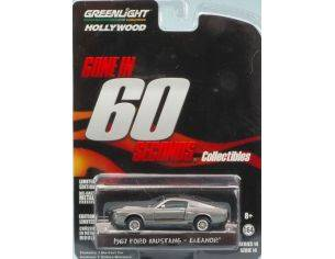 Greenlight GREEN44742 FORD MUSTANG SHELBY GT500 1967 ELEANOR GONE IN 60 SECONDS 1:64 Modellino