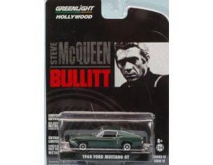 Greenlight GREEN44721 FORD MUSTANG GT 1968 BULLIT 1:64 Modellino