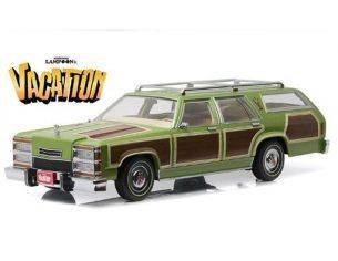 Greenlight GREEN19013 FAMILY TRUCKSTER WAGON QUEEN 1979 NATIONAL LAMPOONS VACATION (1983) 1:18 Modellino
