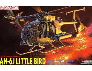 Dragon D3527 ELICOTTERO AH-6J LITTLE BIRD NIGHTSTALKERS KIT 1:35 Modellino