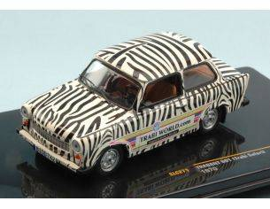 Ixo model CLC271 TRABANT 601 (REABI SAFARI) 1970 TRABI WORLD.COM 1:43 Modellino