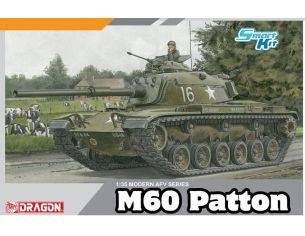 Dragon D3553 M60 PATTON KIT 1:35 Modellino