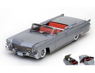 SunStar SS4706 LINCOLN CONTINENTAL MKIII OPEN CONVERTIBLE 1958 SILVER GREY 1:18 Modellino