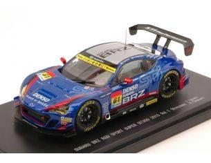 Ebbro EB45294 SUBARU BRZ N.61 17th SUPER GT300 OKAYAMA 2015 T.IGUCHI-H.YAMAUCHI 1:43 Modellino