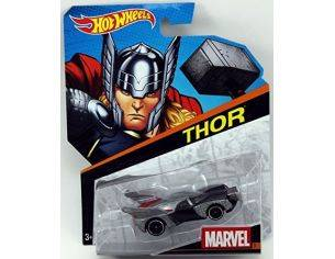 Hot Wheels HWDKJ79 VEICOLO THOR BATMAN VS SUPERMAN 1:64 Modellino