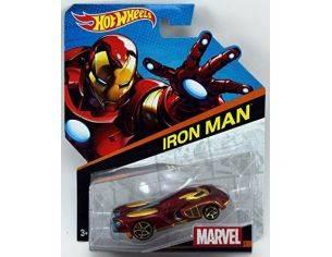 Hot Wheels HWBDM71 VEICOLO PERSONAGGIO MARVEL IRON MAN 1:64 Modellino