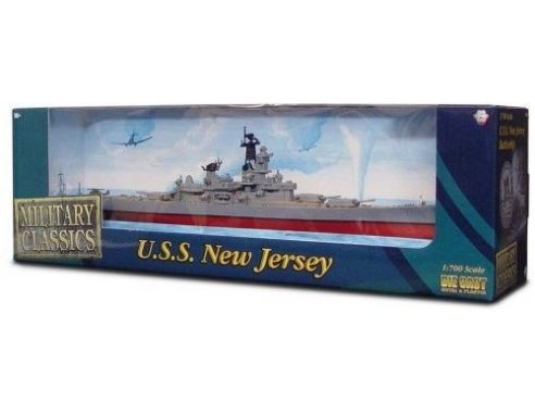 Alpha International 09002 USS NEWJERSEY NAVAL WAR VESSEL 1/700 Modellino