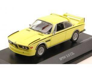 Schuco SH2190 BMW 3.0 CSL 1972 YELLOW 1:43 Modellino