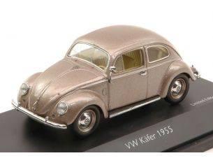 Schuco 3362 VW BEETLE 1955 BRONZE METAL 1/43 Modellino