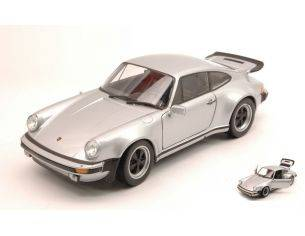 Welly WE4043S PORSCHE 911 TURBO 3.0 1974 SILVER 1:24 Modellino