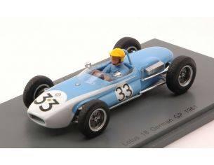 Spark Model S4821 LOTUS 18 TONY MAGGS 1961 N.33 11th GERMAN GP 1:43 Modellino