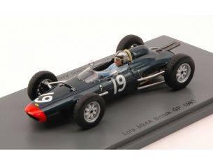 Spark Model S4820 LOLA MK4A CHRIS AMON 1963 N.19 7th British GP 1:43 Modellino
