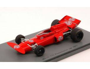 Spark Model S3375 MARCH 711 PRESENTATION CAR 1971 1:43 Modellino