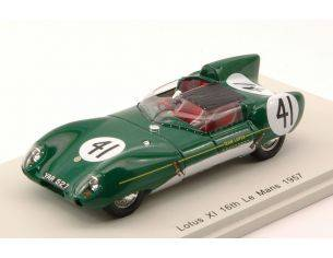 Spark Model S4401 LOTUS XI N.41 16th LM 1957 A.HECHARD-R.MASSON 1:43 Modellino