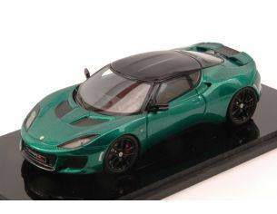 Spark Model S2229 LOTUS EVORA 400 2016 METALLIC GREEN 1:43 Modellino