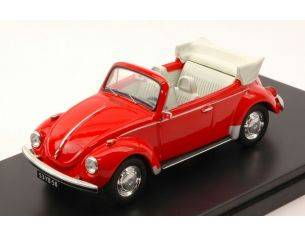 Protar PRXD530 VW SUPER BEETLE CABRIO 1973 RED 1:43 Modellino