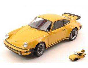 Welly WE4043Y PORSCHE 911 TURBO 3.0 1974 YELLOW 1:24 Modellino