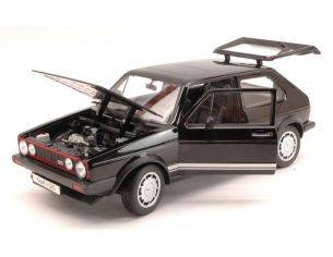 Welly WE8039BK VW GOLF I GTI 1976 BLACK 1:18 Modellino