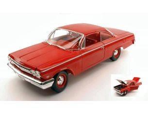 Maisto MI31641R CHEVROLET BEL AIR 1962 RED 1:18 Modellino