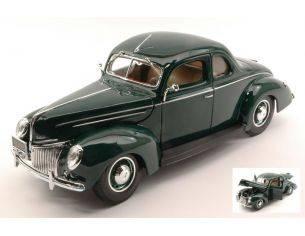 Maisto MI31180GR FORD DELUXE COUPE' 1939 GREEN 1:18 Modellino