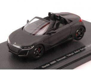 Ebbro EB45232 HONDA S660 CONCEPT TOKYO AUTO SALON 2015 MATT BLACK 1:43 Modellino