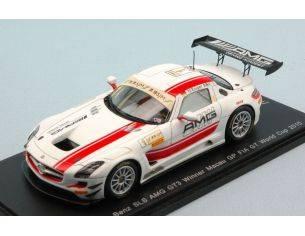 Spark Model SA086 MERCEDES SLS GT3 N.1 WINNER MACAU FIA GT 2015 M.ENGEL LIM.500 1:43 Modellino