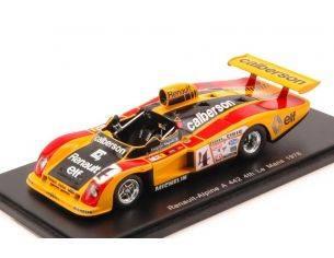 Spark Model S4376 ALPINE A442 A N.4 4th LM 1978 RAGNOTTI-FREQUELIN-JABOUILLE 1:43 Modellino