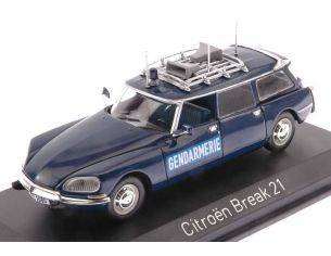 Norev NV155043 CITROEN BREAK 21 1974 GENDARMERIE 1:43 Modellino