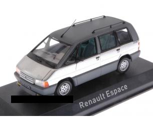 Norev NV518013 RENAULT ESPACE 1984 TITANE SILVER 1:43 Modellino