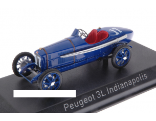 Norev NV479972 PEUGEOT 3L N.17 23th INDIANAPOLIS 1920 A.BOILLOT 1:43 Modellino