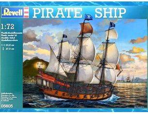 Revell RV05605 PIRATE SHIP KIT 1:72 Modellino