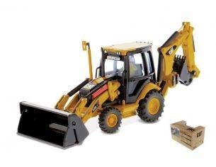 Diecast Master DM85143 CAT 420E IT BACKHOE LOADER PIVOT 1:50 Modellino