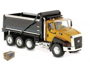 Diecast Master DM85290 CAT CT660 DUMP TRUCK YELLOW/BLACK 1:50 Modellino