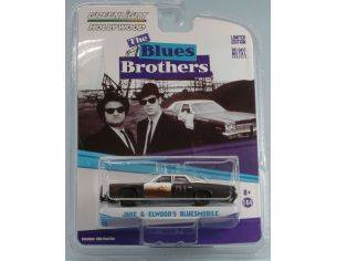 Greenlight GREEN44710C DODGE MONACO 1974 BLUES BROTHERS 1980 1:64 Modellino