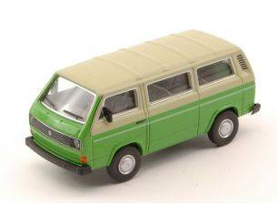 Schuco SH20139 VW T3 BUS GREEN W/PASTEL ROOF (SCHUCO QUALITY) 1:64 Modellino