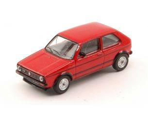 Schuco SH20131 VW GOLF GTI RED 1:64 Modellino