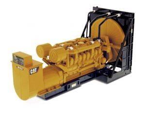 Diecast Master DM85100 CAT 3516B ENGINE GENERATOR 1:25 Modellino